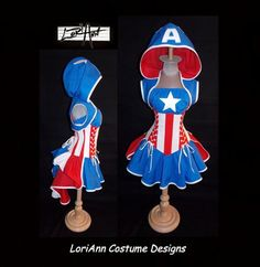 Cosplay Corsets For Captain America, Iron Man, Daleks And More