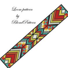Loom Bracelet Patterns, Bead Loom Patterns, Beading Patterns, Bead Loom Designs, Nail Jewelry, Jewellery, Willow Weaving, Native Beadwork, Loom Beading