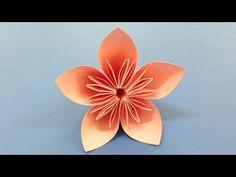 Kusudama Flower Tutorial by Johwey Redington - YouTube