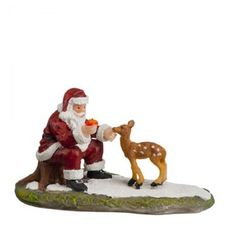 Luville - Santa and young deer