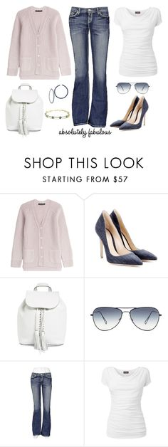 """""""Untitled #611"""" by gallant81 ❤ liked on Polyvore featuring IRIS VON ARNIM, Gianvito Rossi, Rebecca Minkoff, BKE and Phase Eight"""
