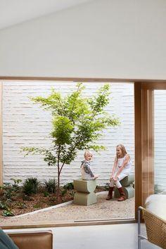 GalaHouse - Orange, NSW — pw studio Prefabricated Houses, Home Landscaping, Garden Spaces, Home Reno, Beautiful Gardens, Courtyards, Relax, Backyard, Exterior