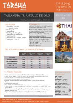 "TAILANDIA: ""Triangulo del Oro"" 8días desde 1372 € salida a partir 15 abril ultimo minuto - http://zocotours.com/tailandia-triangulo-del-oro-8dias-desde-1372-e-salida-a-partir-15-abril-ultimo-minuto/"