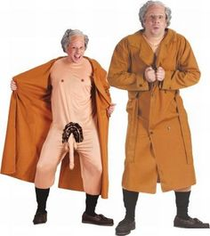 Frank the Flasher Costume for Adults   Party Expert