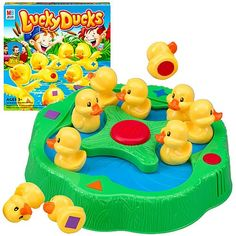 """Lucky Ducks game Is A """"Ducky-Go-Round"""" Like At An Amusement Park Or A Carnival"""