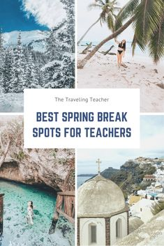 The best spring break locations for teachers (aka adults) – the traveling teacher – Spring Break Plans Spring Break Locations, Spring Break Destinations, Travel Destinations, Cheap Spring Break Trips, Cool Places To Visit, Places To Travel, Traveling Teacher, Arizona Road Trip, Mountain Vacations