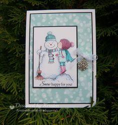 Kersten's Kreativkiste: Snow Kisses