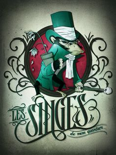 Les Singes on Behance