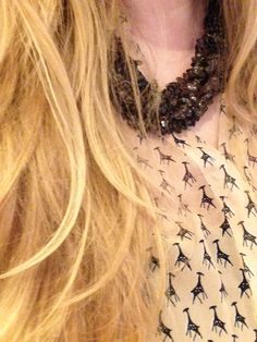 #giraffe #rocks #statementnecklace giraffe rocks statement necklace