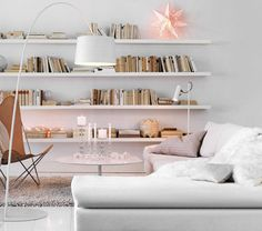 Originally pinned as 'elegant bookshelf' but I am paying more attention to what is in front...