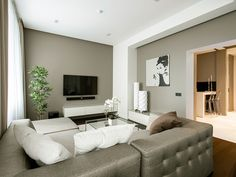 63 Cozy Contemporary Apartment Living Room Decor Ideas - Home Decor For Fun Minimalist Apartment, Minimalist Interior, Interior Modern, Minimalist Style, Minimalist Living, Luxury Interior, Interior Styling, Small Apartment Decorating, Apartment Interior Design
