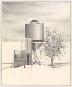 Douglas Darden. Oxygen House Project. 1988