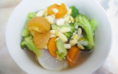 White Radish Broccoli Soybean Soup Recipe for Weight Loss on http://www.livingincmajor.com/white-radish-broccoli-soybean-soup-recipe-for-weight-loss