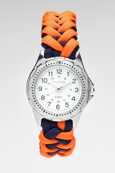 Paracord Survive It Shark Knot Watch