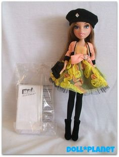 ANYSSA Porcelain Bratz Doll  SOLD