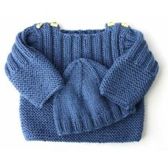 Ravelry: Pekelo pattern by Muriela Knit Baby Sweaters, Knitted Baby Clothes, Knitted Baby Blankets, Knitted Hats, Baby Boy Knitting Patterns, Baby Cardigan Knitting Pattern, Knitting For Kids, Easy Knitting, Baby Outfits