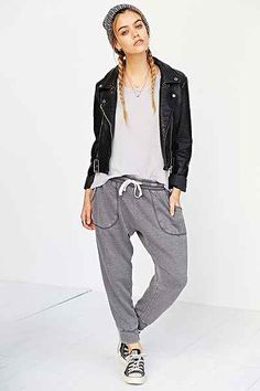 Margot Cozy Cropped Jogger Pant - Urban Outfitters