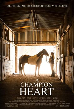 A Champion Heart / A Horse from Heaven : Mandy (Mandy Grace), a lonely girl finds faith, hope and healing through her relationship with a wounded horse. Best Movies To See, Latest Movies, Good Movies, Horse Movies, Horse Books, Movie To Watch List, See Movie, Horse Story, Hd Movies Online