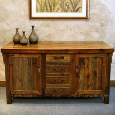 rustic sideboards rustic buffets wooden sideboards - 800×800