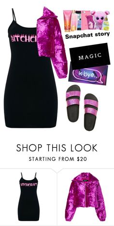 """""""magic."""" by mvsthatedx ❤ liked on Polyvore featuring MISBHV, Victoria's Secret and Percival"""