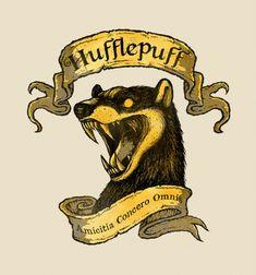 Harry Potter Hufflepuff Motto T-Shirt - The Shirt List Art Harry Potter, Harry Potter Drawings, Harry Potter Houses, Harry Potter Outfits, Harry Potter Universal, Hogwarts Houses, Harry Potter Fandom, Harry Potter Hogwarts, Percy Jackson