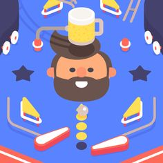 LA Gifathon Day 17 Pinball and beer | James Curran