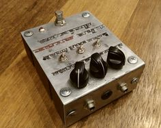 PCA Retro Mechanical Labs Electron Fuzz Distortion Metal EFFECTS NEW