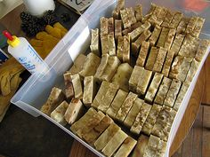 Brown Sugar and Oatmeal Soap crock pot recipe