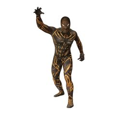 Black Panther Movie Erik Killmonger Second Skin Adult Suit Adult Costume Dress Up Costume Mens Dress Up Costumes, Adult Costumes, Blue Plumbago, Erik Killmonger, Wedding Ties, Marvel Vs, Tie Knots, Second Skin, Black Panther