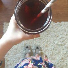 Iced Red Raspberry Leaf Tea — Nutty 4 Nutrition