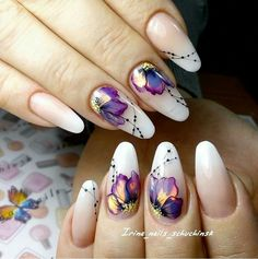 you should stay updated with latest nail art designs, nail colors, acrylic nails, coffin… Flower Nail Designs, Flower Nail Art, Nail Designs Spring, Butterfly Nail Art, Nails With Flower Design, Indian Nail Designs, Nail Flowers, Tropical Nail Designs, Lace Nail Design