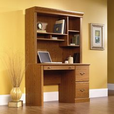 48 Computer Desk With Hutch By Sauder At Http Suliaszone