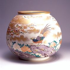 京焼、清水焼 Japanese Products, Japanese Porcelain, Bonsai, Pottery, China, Vase, Traditional, Crafts, Beautiful