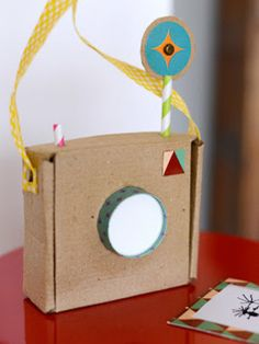 Frugal Fun with Cardboard by Estefi Machado via apartment therapy