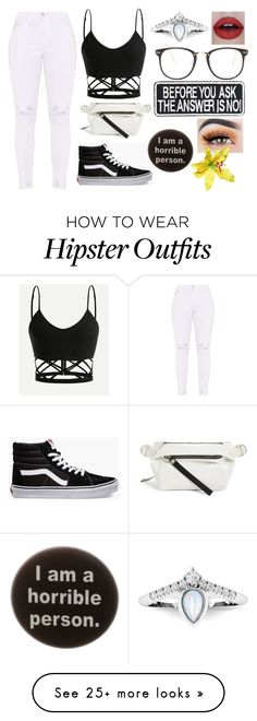 """""""unique // day 4"""" by aesthetic-malfoy on Polyvore featuring Vans, Proenza Schouler, Nasty Gal and Humör"""