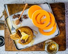 Healthy Pumpkin Spice Pancakes With Coffee Extract