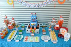 Robots Birthday Party Ideas | Photo 40 of 45 | Catch My Party