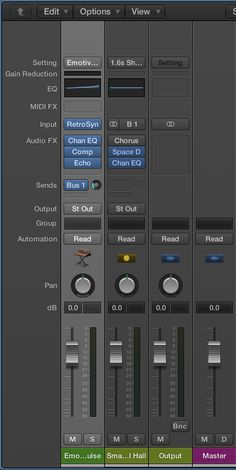 Logic Pro X: Using and saving patches