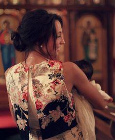 Floral Ukrainian Inspired Godmother Dress for Gigi's Baptism by Marusya Grace | Project | Sewing / Women's | Dresses | Kollabora