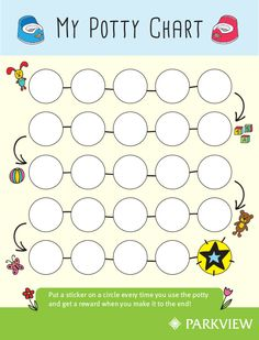 Free Printable Potty Training Reward Punch Card Like A Reward