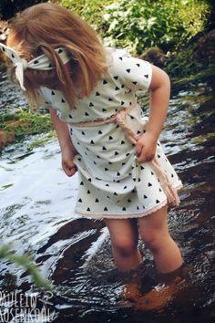 Freebook Quatschkopf Kleid – #2   Bis Größe 164