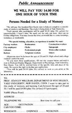 interesting psychology experiments
