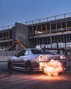 style – Join in the world of pin Tuner Cars, Jdm Cars, Nisan Gtr, Nissan Gtr R34, Street Racing Cars, Auto Racing, Drag Racing, Japanese Sports Cars, Nissan Gtr Skyline