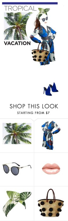 """""""Welcome to Paradise: Tropical Vacation"""" by hajni0103 ❤ liked on Polyvore featuring Etro, Lulu in the Sky, Soeur Du Maroc, Kendall + Kylie and TropicalVacation"""
