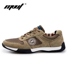 02fb4ca66 2017 Spring comfortable Retro running shoes sneakers Genuine Leather men  sports shoes good quality outdoor walking shoes men-in Running Shoes from  Sports ...