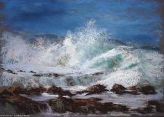 Artwork >> Breton Michel >> Déchaînée Pastel Paintings, Arts, Artworks, Photos, Outdoor, Oil, Watercolor Painting, Drawings, Photography