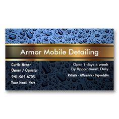 18 best body shop business cards images on pinterest business auto detailing business cards reheart Image collections