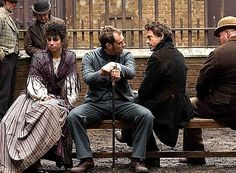 """Now YOU'RE not making any sense, Watson!"" (Robert Downey Jr. and Jude Law, ""Sherlock Holmes,"" 2009)"