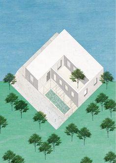 House of squares - Mornag - Tunisia Sana Frini