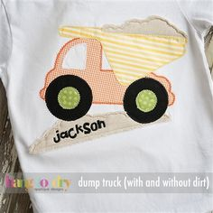 dump truck with or without dirt